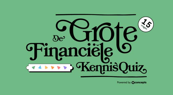 Grote financiële kennisquiz