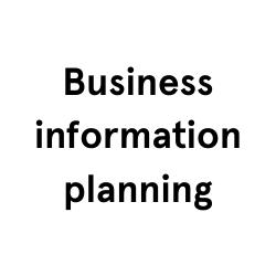 Business information planning