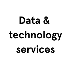 Data &  technology services