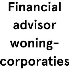 Financial advisor woningcorporaties