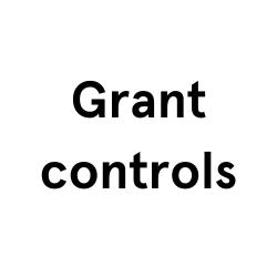 Grant controls